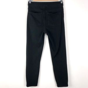Spanx Black Jean-ish Cropped Leggings